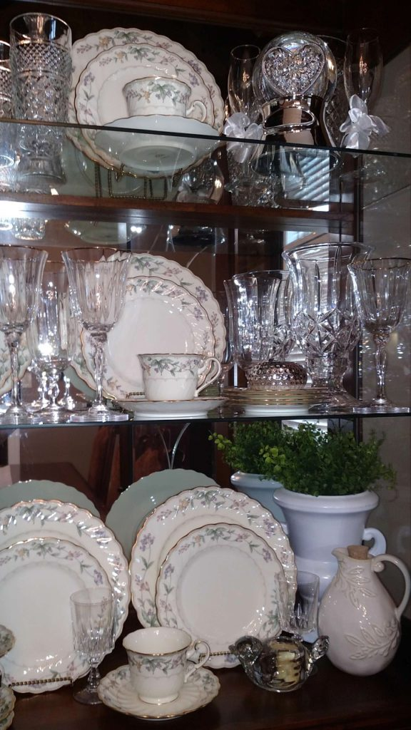 How To Style Your China Cabinet Decorate Amp More With Tip